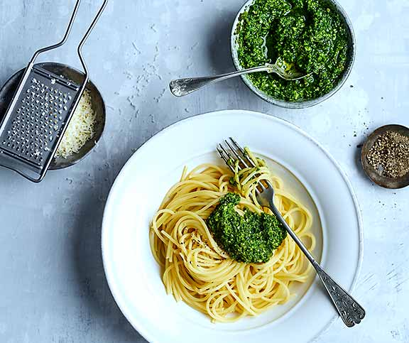 Grundrezept: Pesto