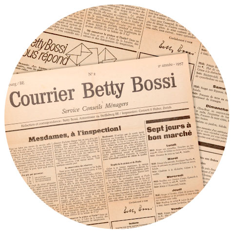 Historique de Betty Bossi
