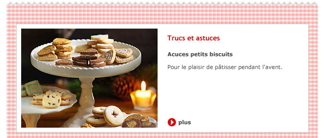 Acuces petits biscuits