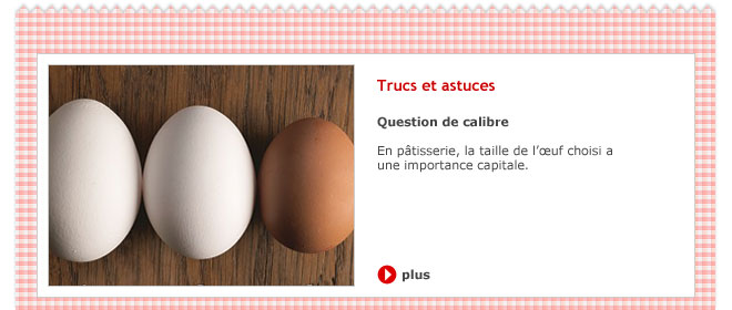 Question de calibre