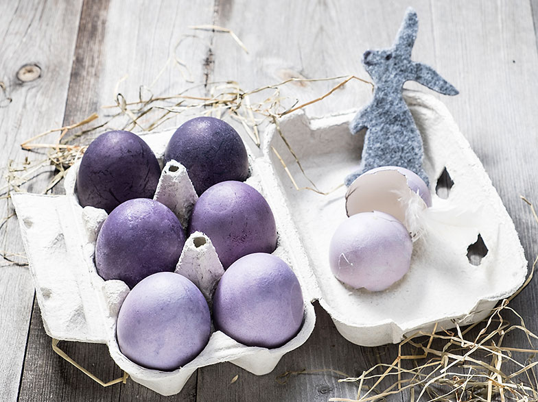Ostereier natürlich färben | Betty Bossi