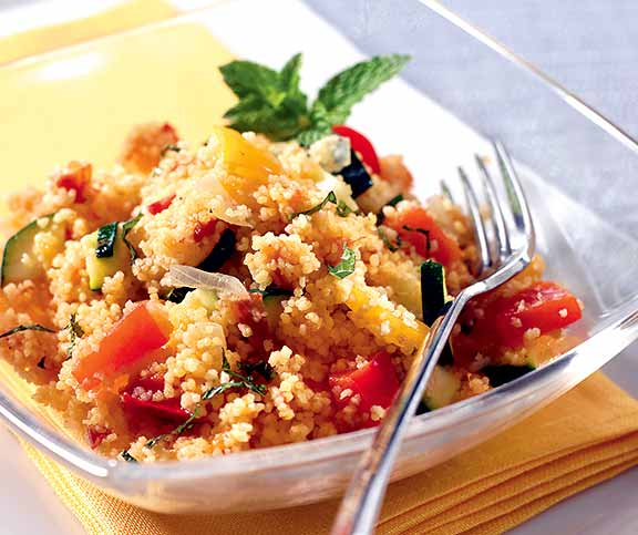 Ratatouille-Couscous