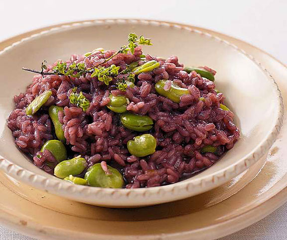 Rotwein-Risotto