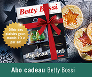 Abonnement cadeau de Betty Bossi