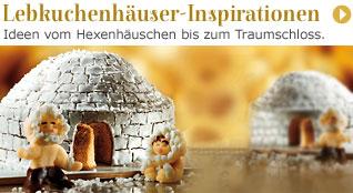 Lebkuchenhäuser-Inspirationen