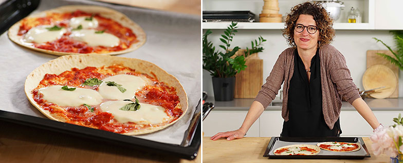 Kitchen Hack: Schnelle Pizza