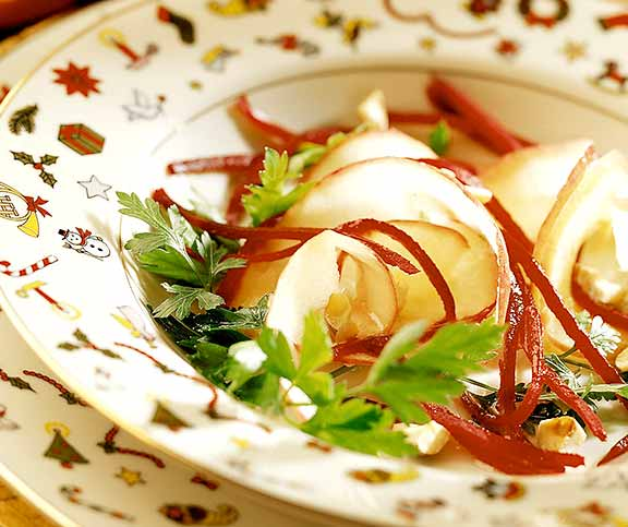 Salade pomme-betterave