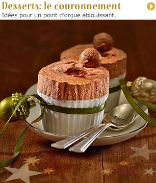 Desserts: le couronnement