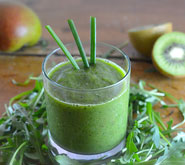Recette de smoothis: Ms Green