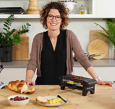 Kitchen hack: brunch et four à raclette