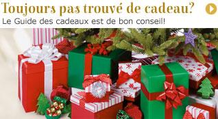 Guide des cadeaux