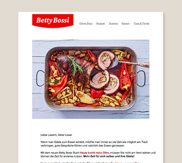 Betty Bossi Newsletter