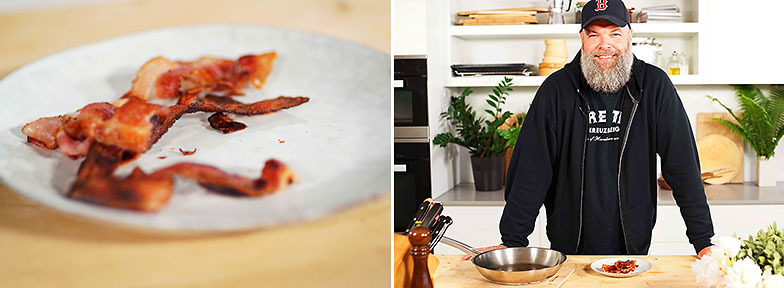 Kitchen Hack: Knuspriger Speck