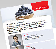 Das Betty Bossi Expertenteam