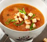 Tomaten-Brot-Suppe
