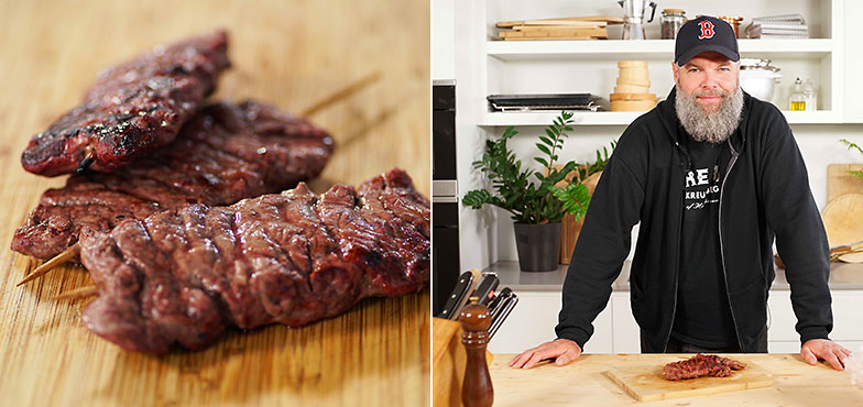 Kitchen hack: la viande ne colle pas au gril