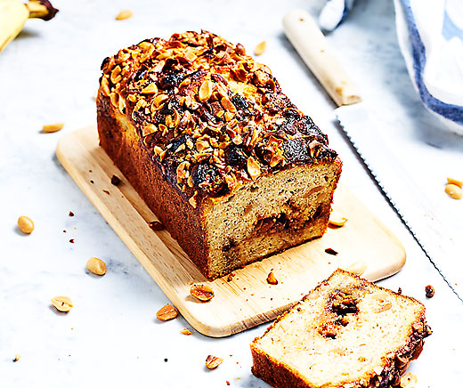 Banana bread aux Snickers®