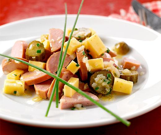 Wurst-Käse-Salat   Betty Bossi