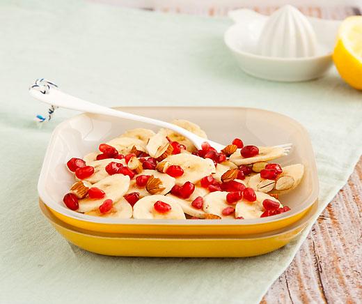 bananen granatapfel salat betty bossi. Black Bedroom Furniture Sets. Home Design Ideas