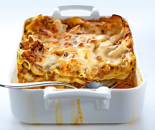 Winter-Lasagne
