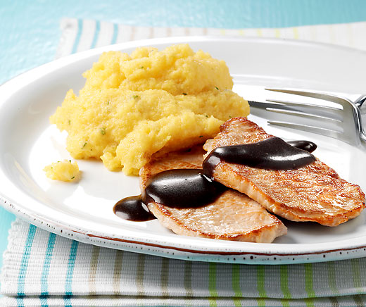 Scaloppine al balsamico