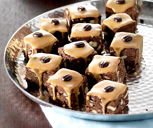 Mocca-Brownies