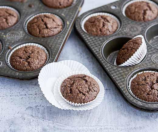 schokolade muffins betty bossi. Black Bedroom Furniture Sets. Home Design Ideas