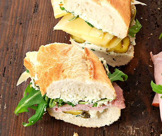 Party-Sandwiches