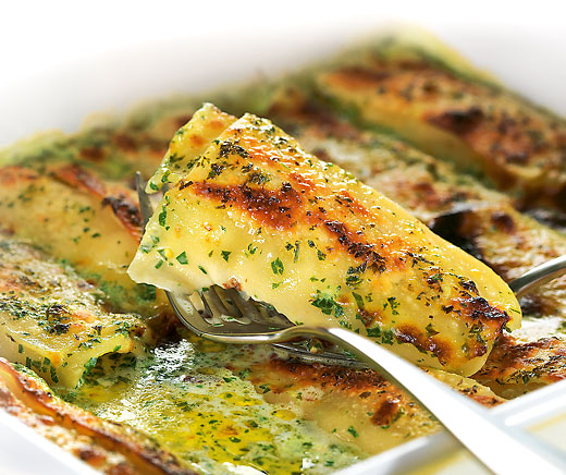 Fisch-Cannelloni