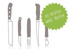Richtige Messer-Wahl leicht gemacht
