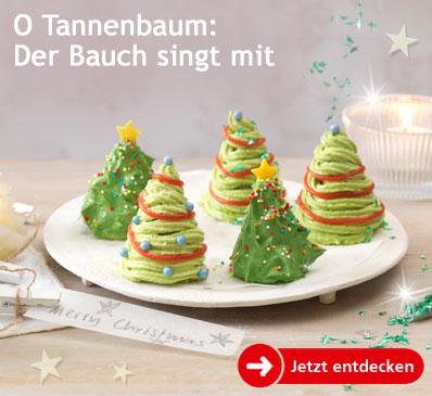 O Tannenbaum: Der Bauch singt mit.