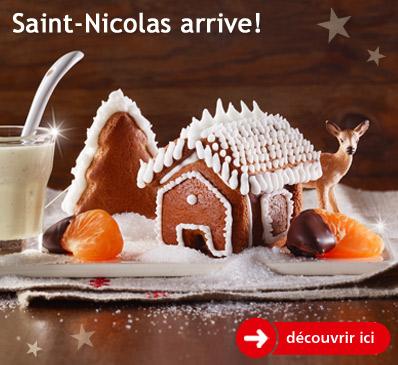 Saint Nicolas arrive!