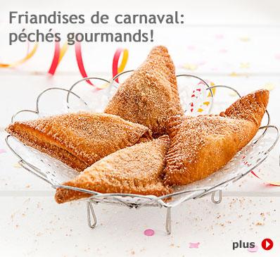 Friandises de carnaval: péchés gourmands!
