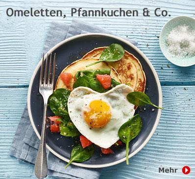 Omeletten, Pfannkuchen & Co.
