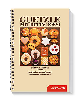 Guetzle mit Betty Bossi, Backbuch