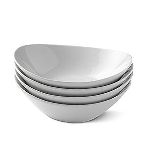 porzellan schalen fina midi edles geschirr f r suppe salat und dessert 24827 betty bossi. Black Bedroom Furniture Sets. Home Design Ideas