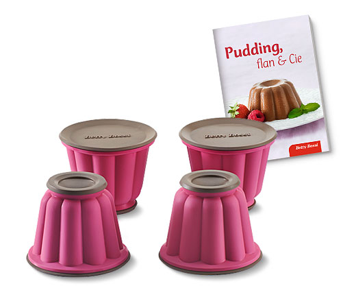 Moules à pudding thermorésistants (lot de 4)