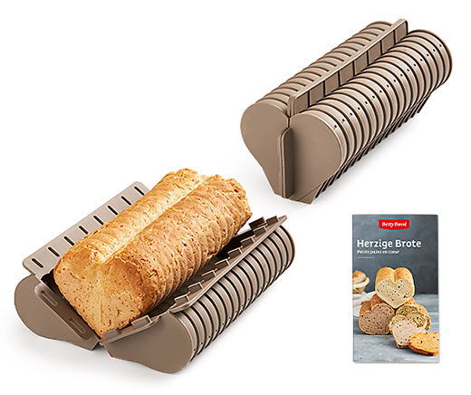 Brotbackform «Herz» (2er-Set)