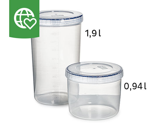 Lock&Lock Reiswaffel-Dosen - 2er-Set