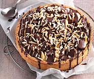 Tourte banana split
