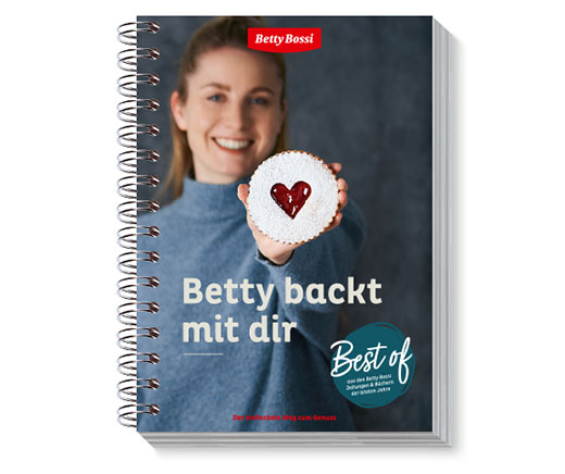 Betty backt mit dir, Backbuch