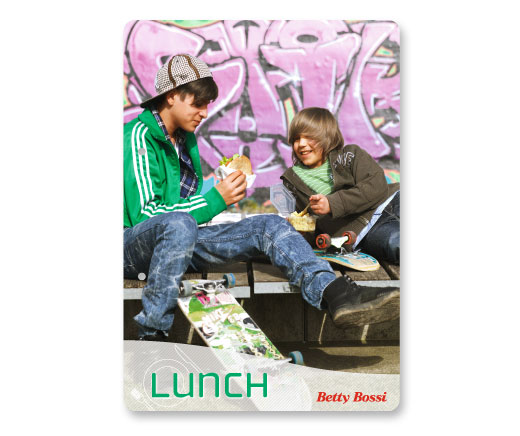 Cartes «Lunch»