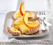 Tartelettes à l'orange curd
