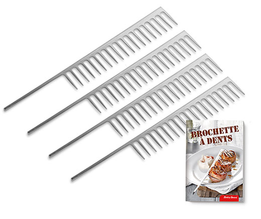Brochette à dents (lot de 4)