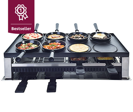 Solis 5 in 1 Tischgrill 8 Personen