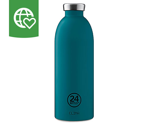 24 Bottles Thermosflasche Clima «Türkis» 0.85 l