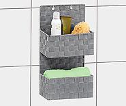 Der Badezimmer Organizer Ist Aus Hochwertigem Polypropylen Geflecht  Gefertigt.