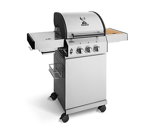 Gasgrill FRED Jr. Deluxe, 2 Brenner