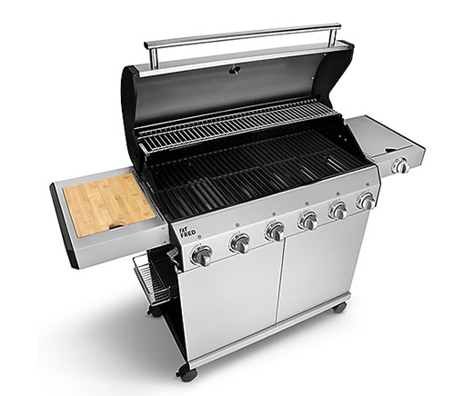 Gasgrill Fat FRED Deluxe, 6-Brenner