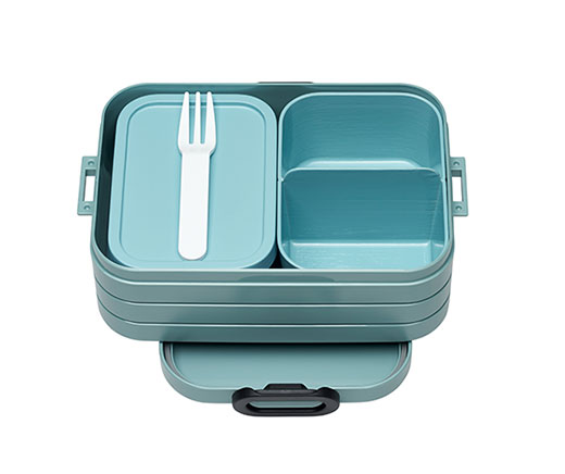 "Mepal Bento Lunchbox ""Take a Break"" midi hellblau"